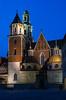 Wawel Royal Castle-Kraków,Poland (bialobrody) Tags: bluehour poland cracow castle malopolska kraków