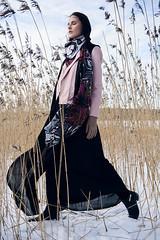 Nordic Rapture (mrksaari) Tags: d750 2470mmf28g model fashion editorial modelpoint outdoors winter snow cold espoo finland scarf