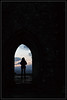 Facing the New Day (J-o-h-n---E) Tags: glastonbury somerset glastonburytor tor hill tower sunrise door arch people sky silhouette