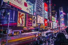 Busy Broadway Theatre District, Times Square, NY. (千杯不醉的 drunkcat) Tags: bisbusny timessquare broadwaytheatreshow broadwaytheatredistrict tonyawards 7avenewyork