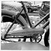 CCM Rambler 500 (bob august) Tags: 2017 2017©rpd'aoust aperture3 appalienskin bw bicyclette bike blackwhite canada ccm décembre formatcarré iphone4 montréal neige noiretblanc rambler500 snow squareformat urban villeray