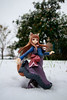 Holo in the Snow (firecloak) Tags: horo holo spice wolf snow