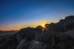 Sunset at Hampi.. (Rachit's) Tags: hampi karnataka india sunset boulders rocks landscape