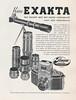 Ihagee Kine Exakta Advertisement 1942 (01) (Hans Kerensky) Tags: ihagee kine exakta advertisement nederlandsch jaarboek voor fotokunst 1942 1943