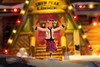 Joyeux Noël ! - Merry Christmas ! (Paul Leb) Tags: macromondays memberschoicebokeh joyeux noël merry christmas feliz navidad macro bokeh lumière light figurine