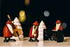 Merry Christmas!:) (freyavev) Tags: christmas figures santa santaclaus wood woodenfigures bokeh stage niftyfifty 50mm vsco canon canon700d lights festive björnköhler germany deutschland