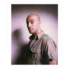 Mohsen (Ahmadthepreacher) Tags: friend mamiya mamiyapresskit male studiolight polaroid color mediumformat