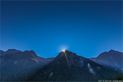 _a_star_is_born (l--o-o--kin thru) Tags: milfordsound neuseeland newzealand star berge mountain