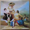 The Grape harvest [box lid] (pefkosmad) Tags: jigsaw puzzle complete hobby leisure pastime waddingtons unopened sealed vintage goya thegrapeharvest fineart art painting box