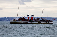 Waverley 20th September 2017 #4 (JDurston2009) Tags: portsmouth southsea waverley hampshire paddlesteamer solent