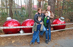 Goof Balls (babyfella2007) Tags: taylor jason grant carson keith mary lou memaw zoo christmas 2017 bronze ape grandmother grocery store kroger isle cereal coca cola ornament columbia sc south carolina winsboro fairfield county grandson lowes shopping jeremy father son lights michelle family