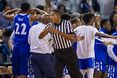Referee Ted Valentine '16 (R24KBerg Photos) Tags: collegebasketball canon sports basketball referee tedvalentine official hoops 2016 mingescoliseum