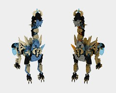 Glimps 6, (Compare) (Folisk) Tags: lego moc hero factory bionicle technic ccbs ldd digital designer pov present prior