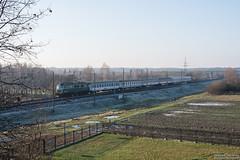 EP07-330 Mińsk Mazowiecki (rokiczaaa) Tags: ep07 trapez tlk ogiński poland train rail railway winter