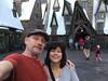 Hogsmeade (The.Mickster) Tags: selfie orlando harrypotter themepark hogsmeade florida randy camile vacation christmas holiday universalstudios