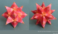 Sky star by Maria Sinayskaya (irina_chisa) Tags: origami kusudama