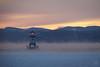 North Light, Burlington, VT, Cold Evening (mbeganyi) Tags: adirondacks ice lakechamplain sunset winter