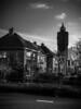 The watertower (rubenheijloo) Tags: bw blackwhite rwhphotography monochrome watertower leerdam street