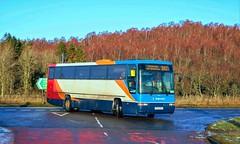 52362 P569MSX Stagecoach Highlands (busmanscotland) Tags: highland country buses stagecoach highlands p569msx p569 msx volvo b10m b10m62 plaxton premiere interurban fife scottish 569 bluebird driver trainer school bus