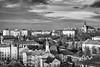 Prague - View from Vyšehrad (dominique cappronnier) Tags: prague vyšehrad czech republic black white monochrome