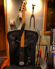 Are You Seated Comfortably? (Pennan_Brae) Tags: electricbass recording recordingstudio musicphotography musicstudio fenderguitar fenderguitars bassguitarist guitarist bassist fender bassguitar fenderbass