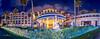 Disney Ambassador Hotel 2017 06 - Panoramic (JUNEAU BISCUITS) Tags: nikond810 nikon disney disneyresort disneyparks waltdisney themepark disneyambassadorhotel panorama resort hotel christmas longexposure