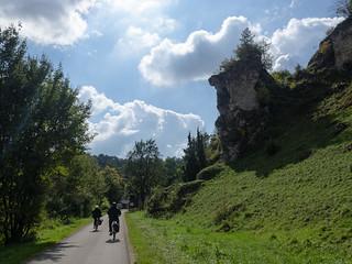 Cycling along the Altmühl River