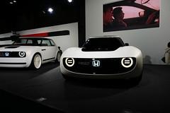 HONDA EV, Osaka Motor Show 2017 (jtabn99) Tags: honda ev car electric nanko intex suminoe osaka japan nippon nihon 20171210 大阪 日本 住之江 南港 ホンダ 電気自動車