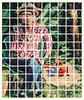 Hockneyish (Bokehneer) Tags: hockney abstract distorted portrait postmodern collage tiles