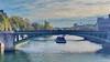 46 Paris en Octobre 2017 - La Seine au Pont d'Arcole (paspog) Tags: paris france octobre october oktober pontdarcole seine river rivière fleuve fluss pont brücke bridge