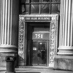 Detroit Michigan - The Olde Building ~ Historic District  Downtown - Entrance thumbnail