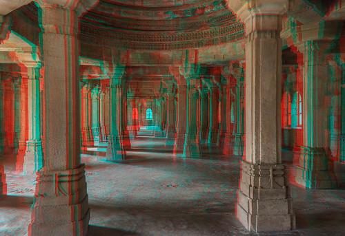 Mosquée, Champaner, Gujarat, Inde