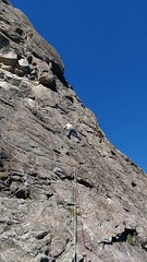 Nice gneiss climbing in cerro lopez Bariloche