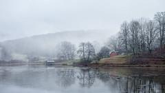 Misty Mountain Morning (shutterclick3x) Tags: landscape lake waterscape mist fog morninglight mountains