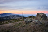 Russian Ridge Sunset (j-mcc3093) Tags: skyline sfbay bayarea bay russian ridge open space preserve sunset rocks lichen hills foothill landscape palo alto