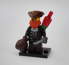 Garveyan Smuggler (Robert4168/Garmadon) Tags: lego minifigure brethrenofthebrickseas pirates garvey smuggles sea rat parrot captain