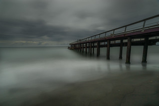 144 seconds of a moody seascape