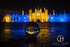 Hampton_Court-4 (chris-bell-photography) Tags: hampton court palace 2017 christmas lights night hamptoncourtpalace glass ball glassball reflection inversion