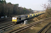 60042 heads through Petts Wood Junction with the 6O53 MWO 03.50 Whatley Quarry to Ashford West Yard seen on 29-1-92. Copyright Ian Cuthbertson (I C railway photo's) Tags: class60 tug 60042 pettswoodjunction arc