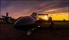 Sea Vixen at sunset (G. Postlethwaite esq.) Tags: newarkairmuseum seavixen sonya7mkii sonyalphadslr winthorpe aircraft clouds fullframe mirrorless photoborder sky sunset
