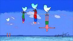 The twitters of politicians (Artista Franzi) Tags: stylus abstract digital art sketch pixel adonitpixel moderndigitalart