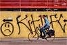Right Direction #4 (Hindrik S) Tags: emoji smiley sign graffiti fence sket skud schutting bike bicycle fyts fiets fahrrad rad streetphoto strjitfotografy street straat strjitte streetphotography straatfotografie candid 2017 fietser fytser radfahrer biker sonyphotographing sony sonyalpha α57 a57 slta57 tamronaf16300mmf3563dillvcpzdmacrob016 tamron road wei weg fietspad fytspaad