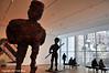 Warriors Take A Stand (Trish Mayo) Tags: art sculpture moma museumofmodernart thomasschutte krieger warriors