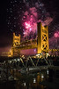 Happy 2018 (ScholzRUNNER) Tags: 2018 newyears fireworks towerbridge bridges landscape golden sacramento california usa