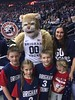 2016_T4T_BYU Game 14 (TAPSOrg) Tags: taps tragedyassistanceprogramsforsurvivors teams4taps collegebasketball byu brighamyounguniversity provo utah survivors 2016 military indoor vertical kids children woman posed mascot cougar redshirt jersey paddle