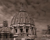 Impressive - Monochrome (ProPeak Photography) Tags: architecture basilicapapaledisanpietroinvaticano basilicasanctipetri blueskies buildings church clouds cupola dome europe famousplace iconic internationallandmark italy michelangelo monochrome people renaissance rome roof stpetersbasilica touristattraction traveldestination travelandtourism unescoworldheritagesite vaticancity winter