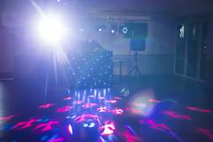20180108_F0001: Disco lights and lens flare (wfxue) Tags: dance floor dancefloor dj music lights empty patterns lensflare people
