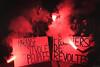 Jour de grêve à Paris (Mika Lander) Tags: grêve paris loistravail nuit fumigène manifestations combat x100t fuji fujifilm reportage message révoltes photographie reporter victoire point fumée determination rougeetnoir