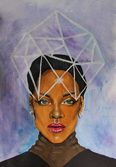 Rihanna drawing (Silje Roos) Tags: art arte arts artist acrylicart painting paint paintings paints painters acrylicpainting acrylicpaint acrylics acrylic acryl face portrait rihanna robyn fenty robynrihannafenty beauty beautiful hot girl hotgirl woman dope celebs news womanportrait p