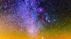 Orion Molecular Cloud Complex (Troy A. Snead) Tags: astrophotos orionmolecularcloudcomplex orionsbelt deepskyobjects astrophotography astroscape astronomy space nightphotography coudersportpa cherryspringsstatepark nebula milkywaygalaxy